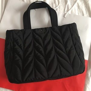 Kate Spade Quilted Crossbody Tote Bag